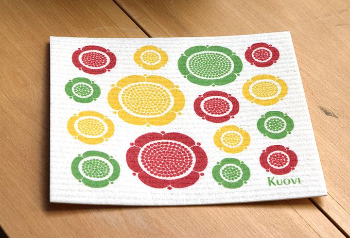 北欧デザイン 北欧雑貨 キッチンワイプ タオル kuovi
