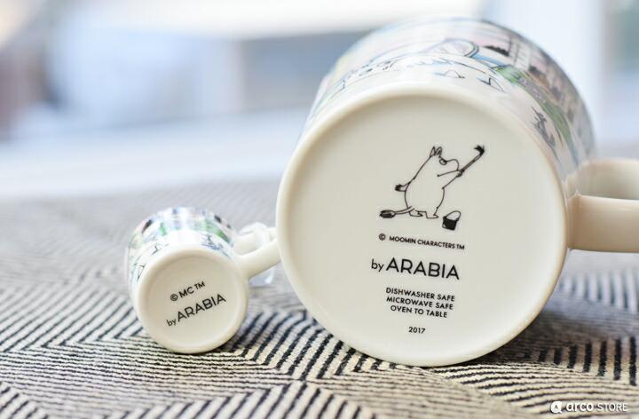 ARABIA FINLAND アラビアフィンランド ムーミンマグ 2017年冬限定 SPRING WINTER スプリングウィンター