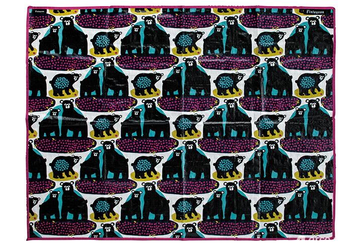 北欧雑貨 北欧デザイン レジャーシート ピクニックシート アウトドア キャンプ フィンレイソン Finlayson エレファンティ