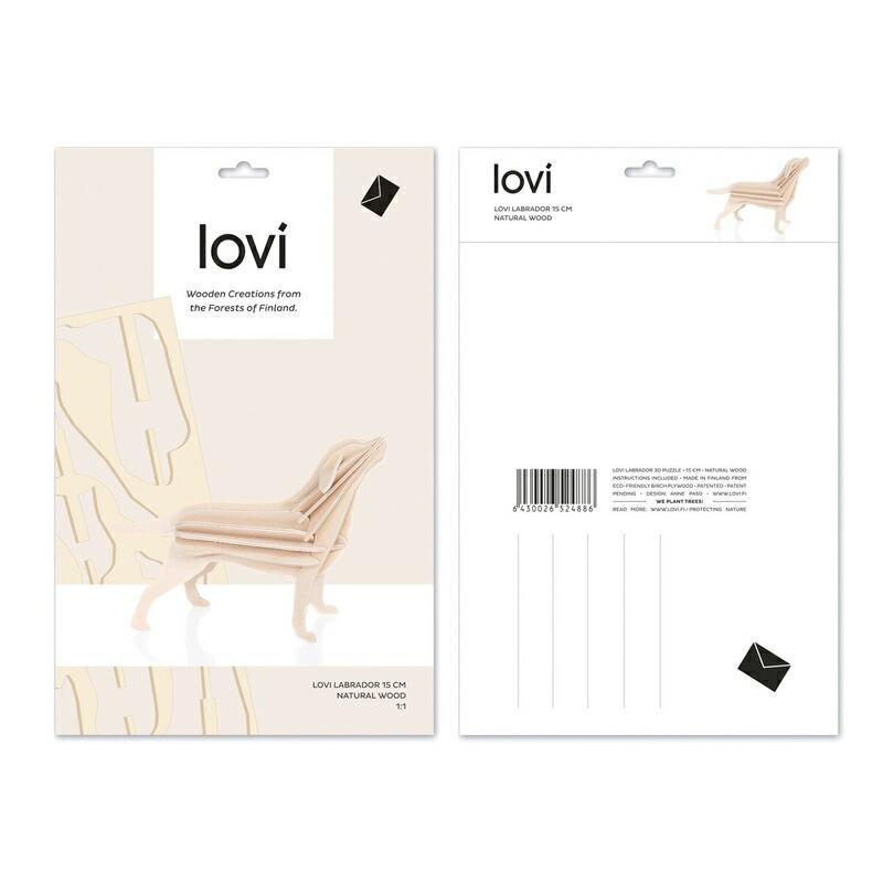 Lovi ロヴィ オーナメントカード 北欧ツリー ツリー飾り バード