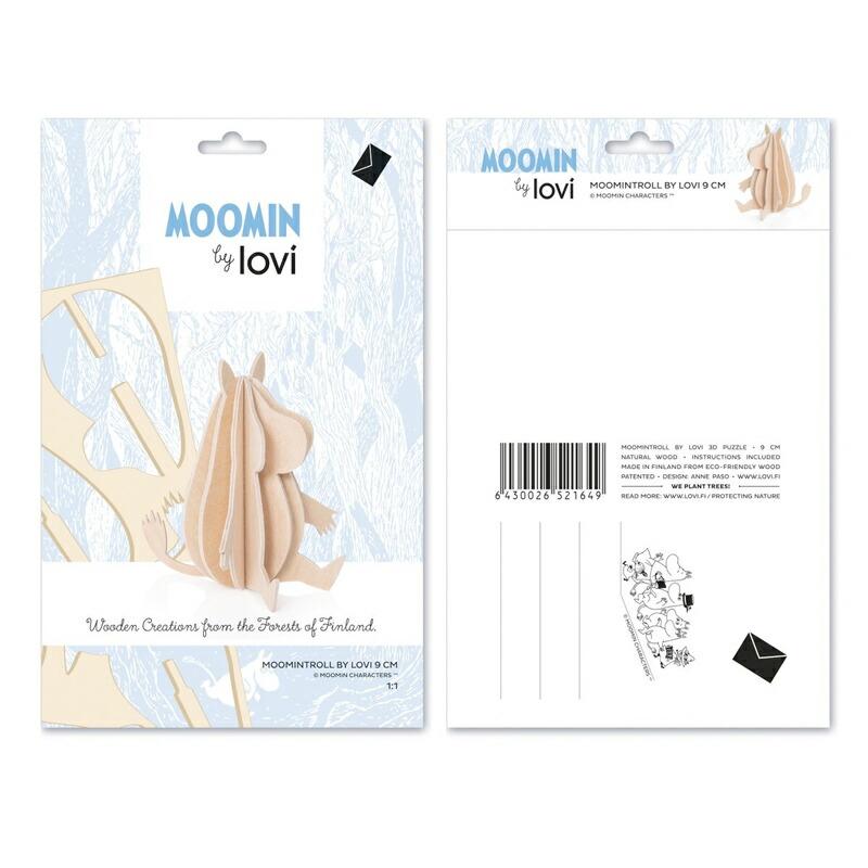 ムーミン moomin 北欧雑貨 北欧デザイン lovi ロヴィ 白樺 オーナメント カード フィンランド