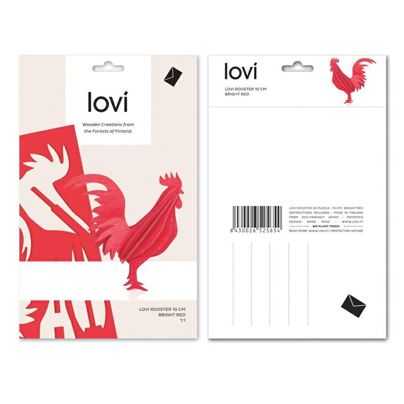 北欧雑貨 北欧デザイン lovi ロヴィ 白樺 オーナメント カード フィンランド