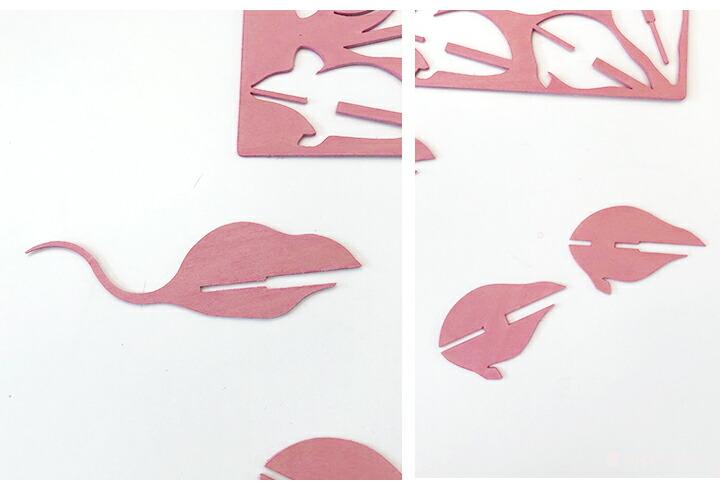 北欧雑貨 北欧デザイン Lovi ロヴィ ロビ マウス ねずみ ネズミ オーナメントカード クリスマス ポストカード