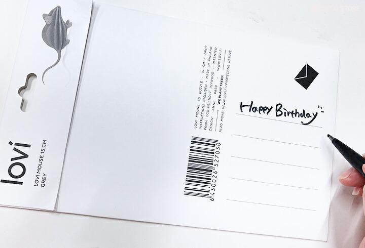 大阪のアルコストア 北欧雑貨 北欧デザイン Lovi ロヴィ ロビ ペンギン クラゲ シーライフコレクション 海 タツノオトシゴ オーナメントカード クリスマス ポストカード