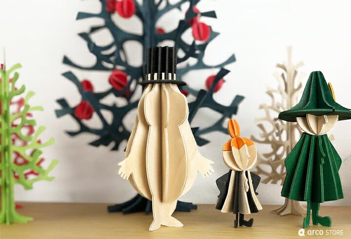 Lovi ロヴィ ロビ ムーミン moomin オーナメントカード クリスマス ポストカード