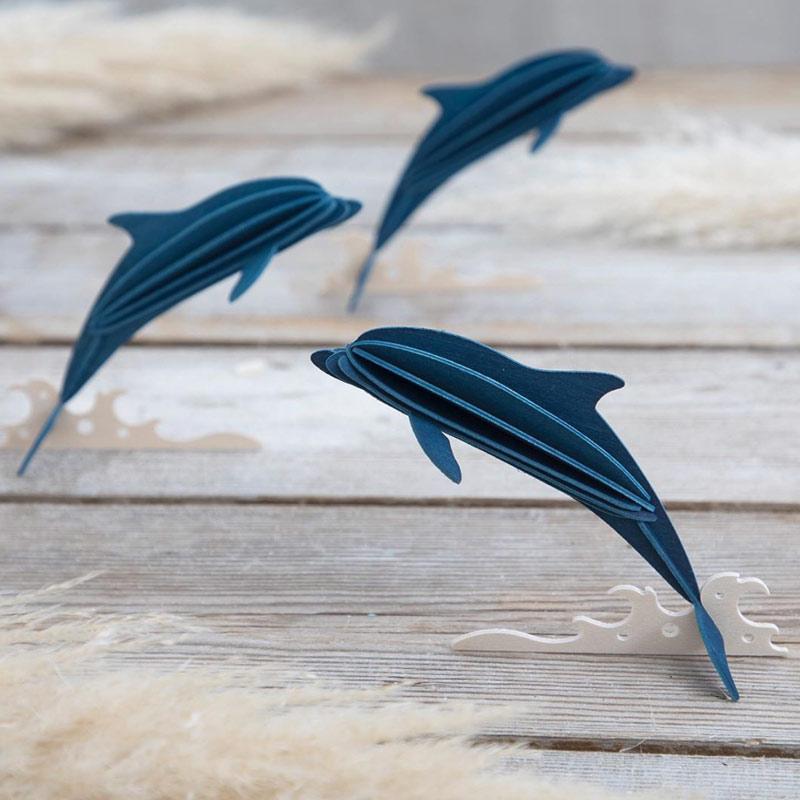 北欧雑貨 北欧デザイン Lovi ロヴィ ロビ ペンギン シーライフコレクション シーライフ  ポストカード