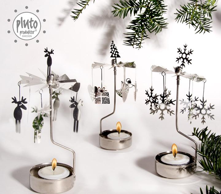 北欧雑貨 クリスマス キャンドル ホルダー プルート pluto