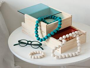 北欧デザイン ネックレス アアリッカ アーリッカ aarikka 木製アクセサリー