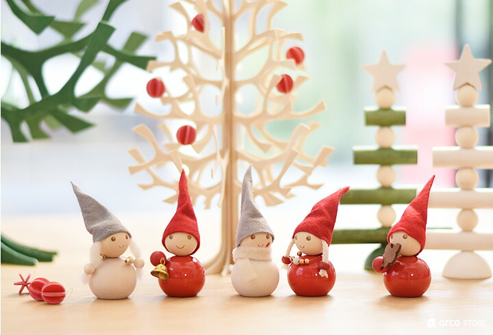 北欧デザイン クリスマス 置物 クリスマスオーナメント アアリッカ アーリッカ aarikka