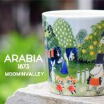 北欧雑貨・北欧デザイン ギフトにarabia アラビア ムーミン マグカップ 2017年限定 moomin moominvalley