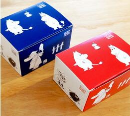 Arabia Moomin MUG(アラビア ムーミン 箱)マグは、ひとつひとつ可愛い箱に入ってお届けします。