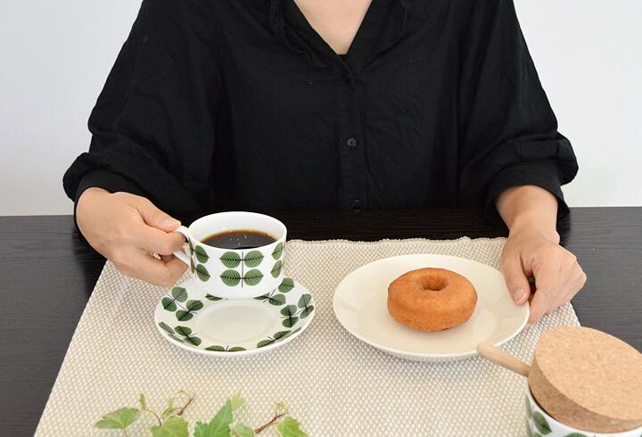 グスタフスベリ Gustavsberg ベルサ bersa スピサリブ ribb コーヒーカップ&ソーサー