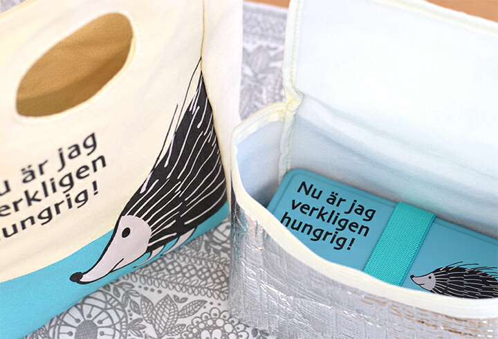 北欧雑貨 北欧デザイン Lisa Larson (リサ・ラーソン) ランチバッグ お弁当
