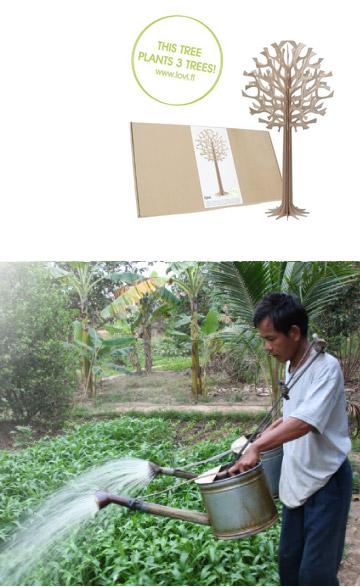 Loviの植栽活動について