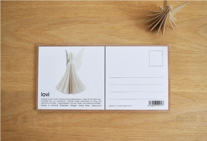 Lovi ロヴィ オーナメントカード
