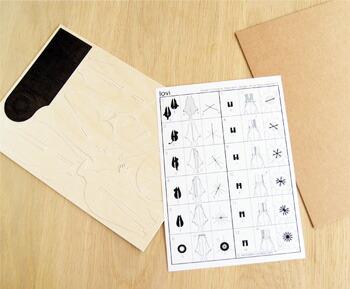 Lovi オーナメントカード リトルミイ:中にはかわいいイラストの説明書入り 北欧雑貨