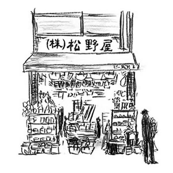 松野屋 アルマイトパイ皿 18cm