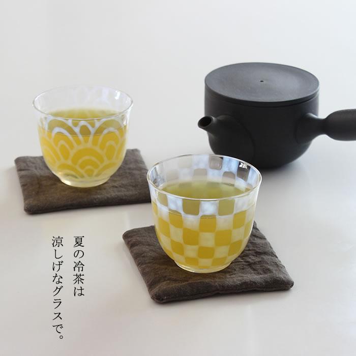 廣田硝子 大正浪漫硝子 冷茶】