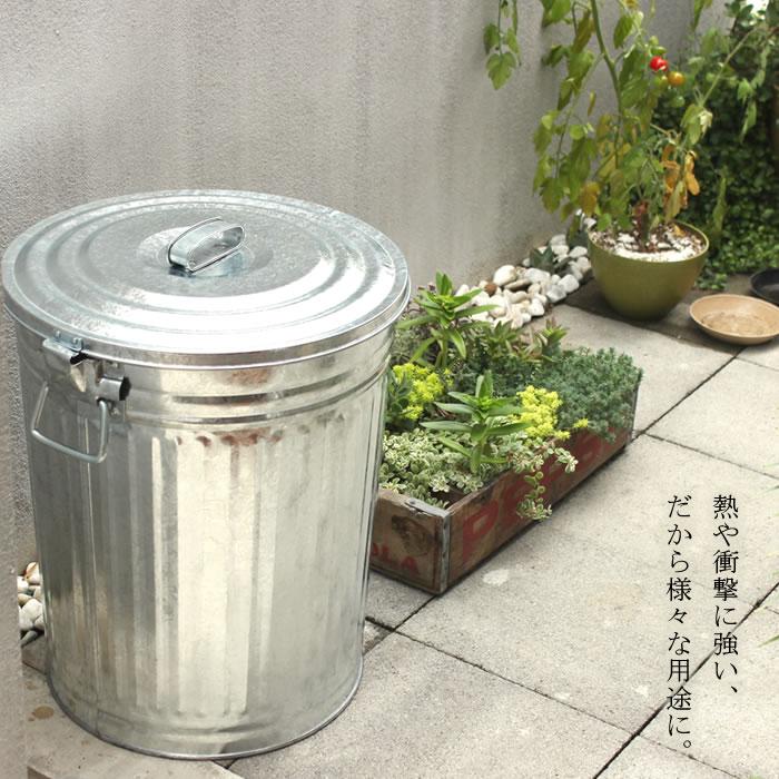 松野屋 メタルペール缶 45型