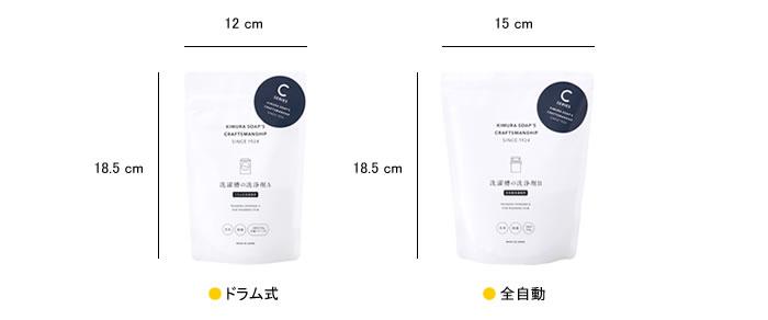木村石鹸 洗濯槽の洗浄剤 A/B