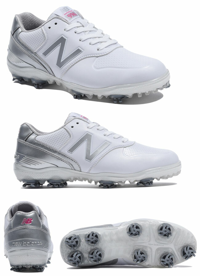 NEW BALANCE GOLF WG996 WHITE/SILVER