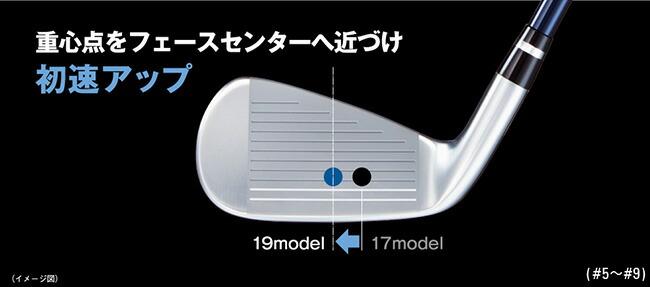 Yamaha Golf 2019model inpres UD2 iron 2