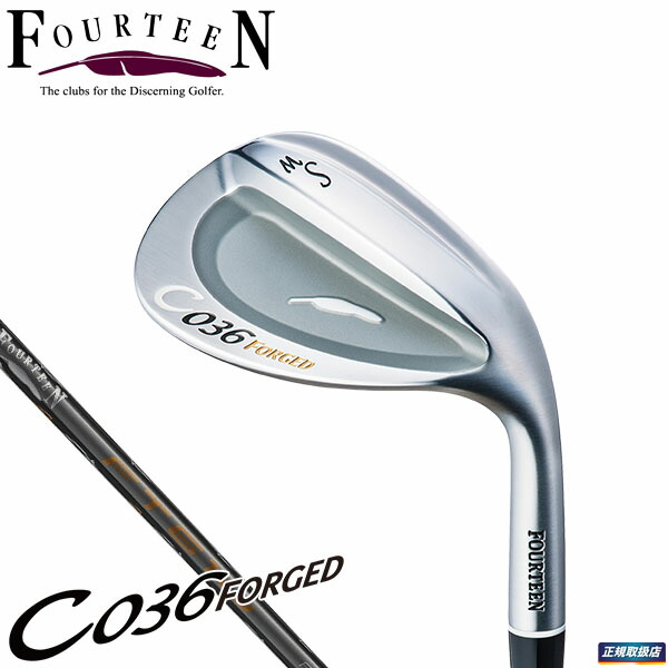 FOURTEEN GOLF C036 FORGED WEDGE FT61wCARBON
