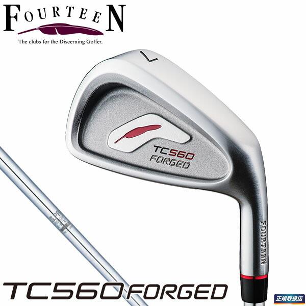 FOURTEEN GOLF TC560 FORGED iron NS950