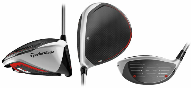 TAYLORMADE M5 DRIVER VIEW