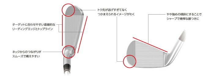 形状にこだわる ~ターゲットに合わせやすい直線的なフォルムを採用~