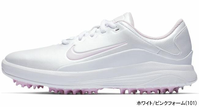 AQ2323 101 VAPOR ピンクフォーム 【あす楽対応】 ホワイト/ [有賀園ゴルフ] [2018年モデル] レディス ゴルフシューズ ナイキ ヴェイパー