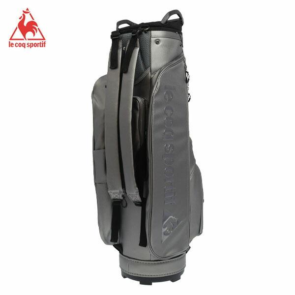 [2019年モデル] ルコック メンズ 軽量 バックパック型 キャディバッグ QQBOJJ01 SV00 シルバー