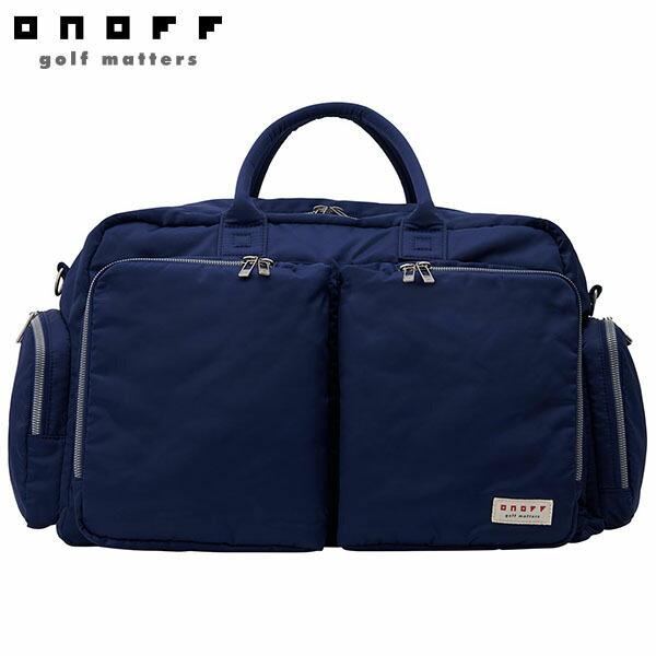 [2020年モデル] ONOFF オノフ ユニセックス ボストンバッグ OV0420 04 ネイビー