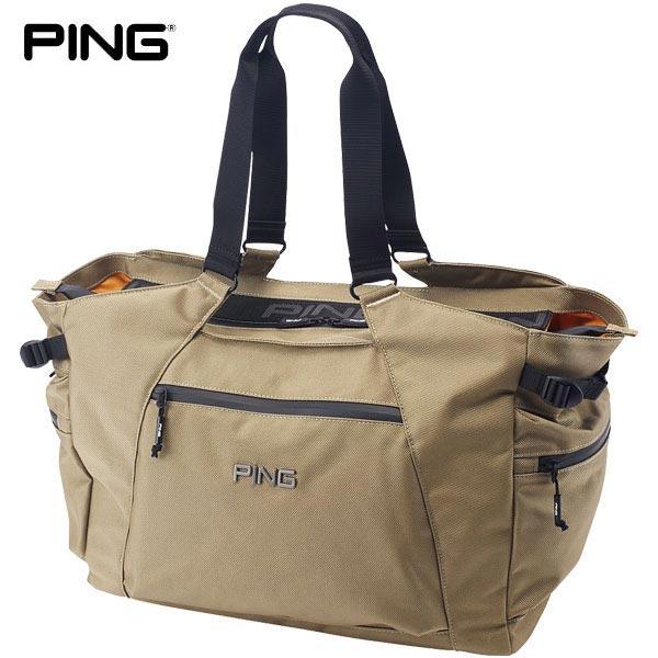 [2020年モデル] PING ピン メンズ マウンテンシリーズ トートバッグ GB-P202 35044-02 Beige