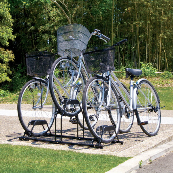 スリムタイプ 自転車 ガレージスタンド 2台自転車 2台 スタンド 自転車2台 ガレージ 2SIV送料無料 スタンド自転車 スタンドガレージ 【D】 アイボリー アルミス 自転車スタンド サイクルハウス