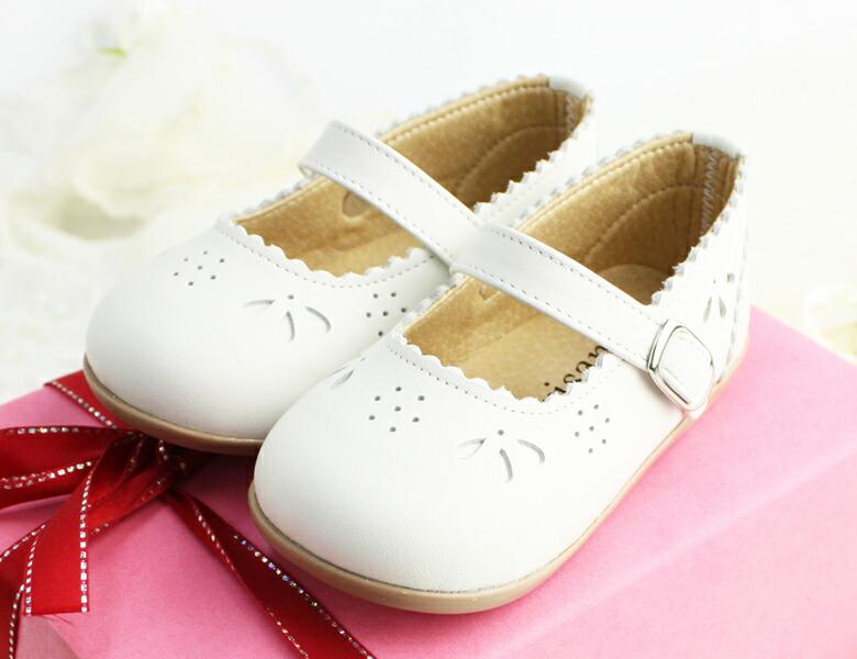 7ba22c8dd1ef2  在庫処分 ベビーシューズ フォーマル ベビーフォーマルシューズ フォーマル靴 女の子 白 ホワイト ベージュ 結婚式 出産祝い 日本製・本革 13cm  14cm 15cm ...