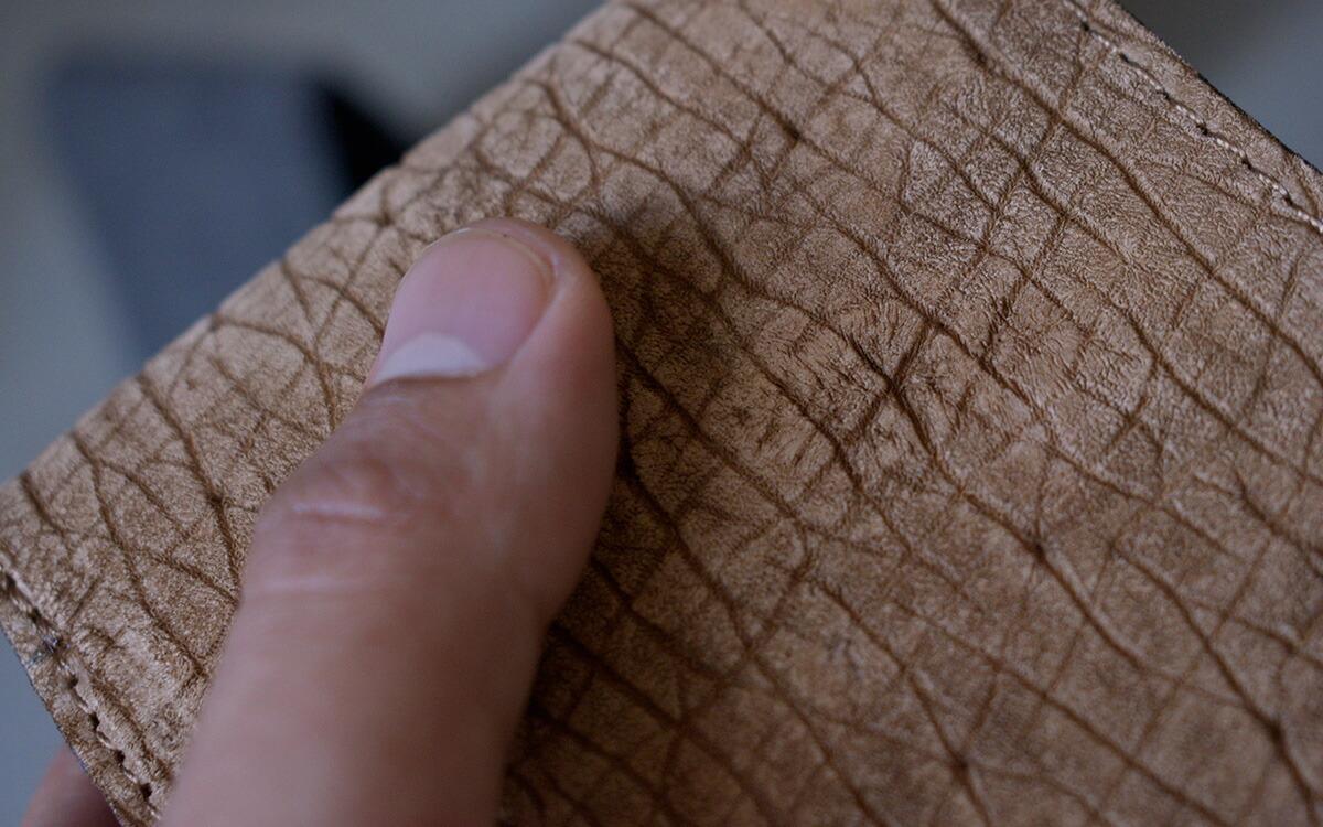 zoo カバ革 2折財布