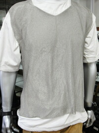 ステンレス メッシュシャツ
