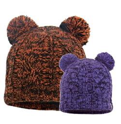 DEXSHELL デックスシェル 防水・通気 ツインポンポン付きビーニー帽