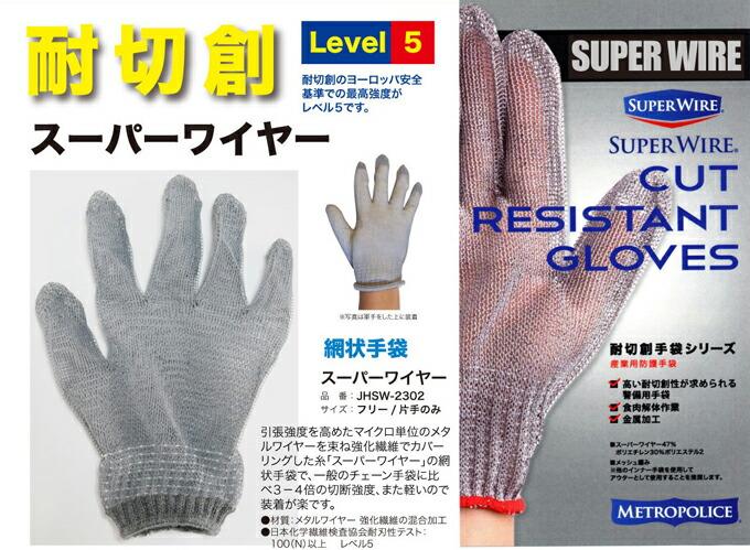 スーパーワイヤー手袋