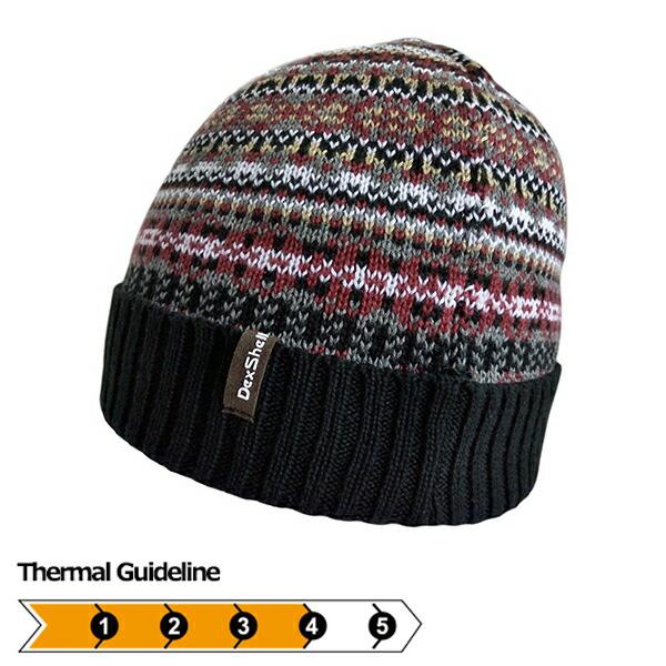 DexShell ビーニー帽ボヘミアンフェアアイル DH362BH
