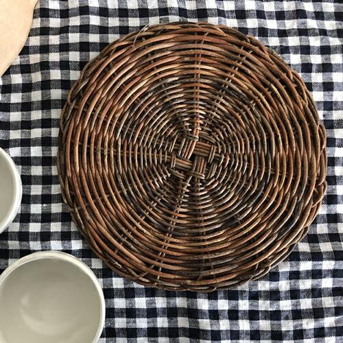 あけび鍋敷き