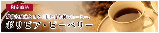 【限定価格】(今月のドリップ)「ボリビア・ピーベリー」【2/7 15:00〜2/19 0:00まで!】