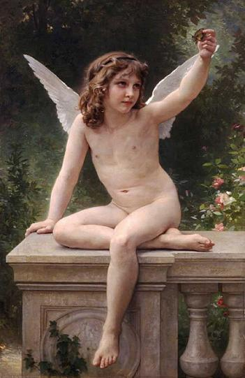 絵画(油絵複製画)制作 ウィリアム・ブグロー「捕獲」