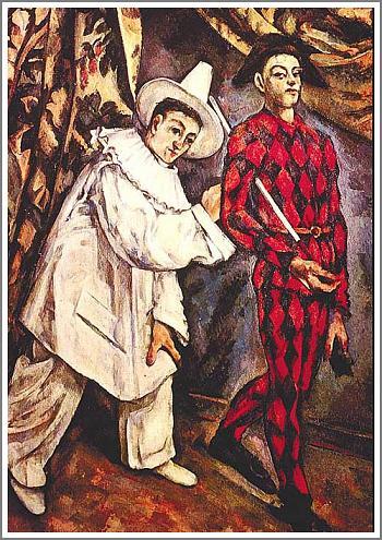 絵画(油絵複製画)制作 ポール・セザンヌ「マルディ・グラ」