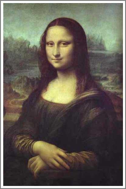 絵画(油絵複製画)制作 レオナルド・ダ・ヴィンチ「モナリザ」