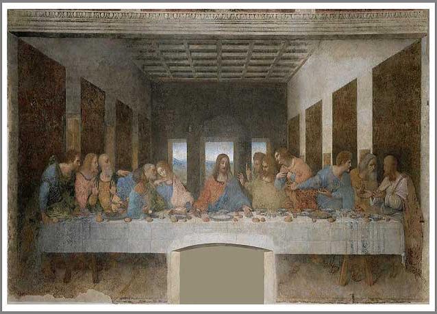 絵画(油絵複製画)制作 レオナルド・ダ・ヴィンチ「最後の晩餐」