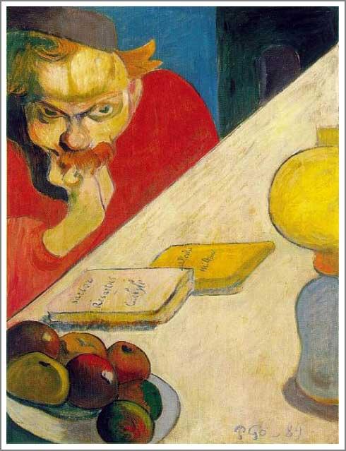 絵画(油絵複製画)制作 ポール・ゴーギャン「ヤコブ・メイエル・デ・ハーン」