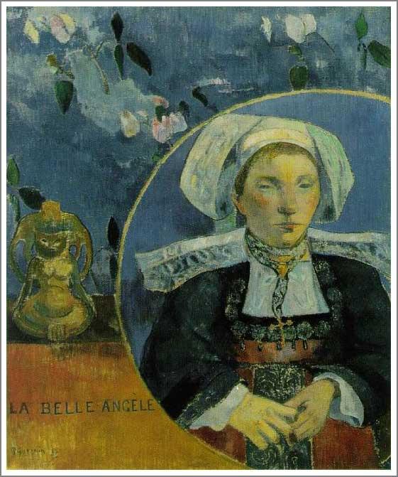 絵画(油絵複製画)制作 ポール・ゴーギャン「美しきアンジェール」