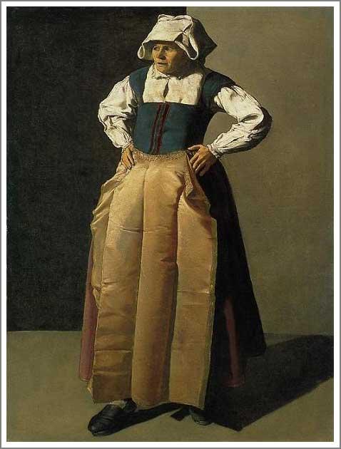 絵画(油絵複製画)制作 ジョルジュ・ド・ラトゥール「老婆」
